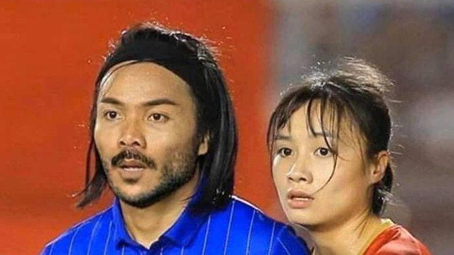 'Cười té ghế' với loạt ảnh nhan sắc cầu thủ Thái Lan và 'hoa khôi' tuyển nữ Việt Nam