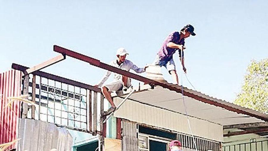Khó khăn trong cưỡng chế các công trình xây dựng vi phạm