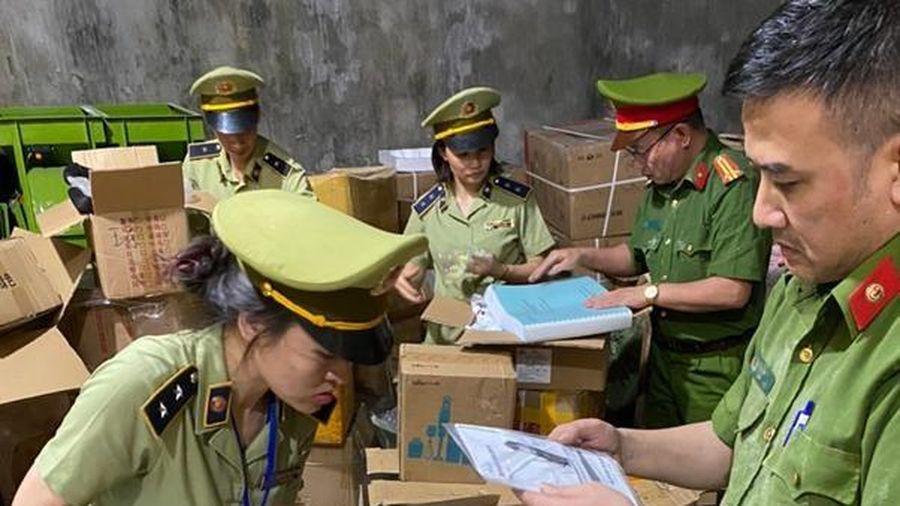Hà Giang thu giữ số lượng lớn hàng hóa không có hóa đơn chứng từ