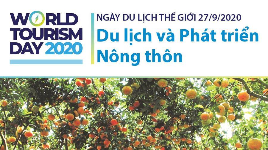 Ngày Du lịch Thế giới 27/9/2020: Du lịch và Phát triển Nông thôn