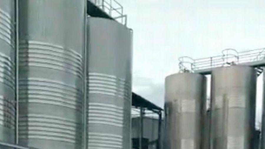 Vỡ thùng chứa 50.000 lít rượu vang, nhiều tuyến phố ở Tây Ban Nha được nhuộm đỏ