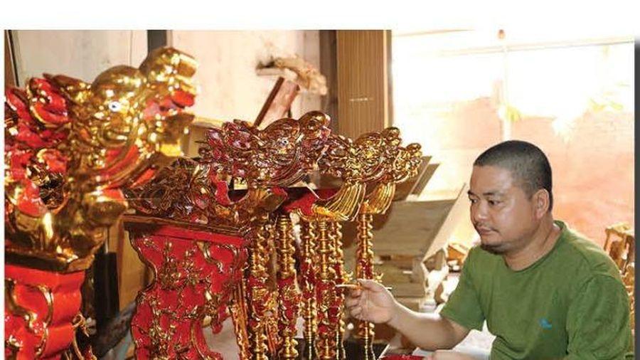 Nam Định: Bền bỉ nghề sơn mài Cát Đằng