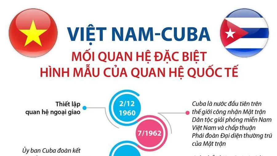 Việt Nam-Cuba: Hình mẫu của quan hệ quốc tế